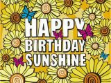 Happy Birthday Sunshine Quotes 22 Best Images About Birthday Wishes On Pinterest