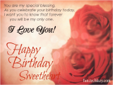 Happy Birthday Sweetheart Quotes 52 Mesmerizing Birthday Love Quotes Sayings Photos