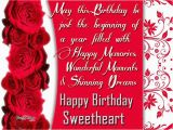 Happy Birthday Sweetheart Quotes Happy Birthday Sweetheart Pictures Photos and Images for
