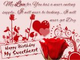 Happy Birthday Sweetheart Quotes Happy Birthday Sweetheart Wishes Whatsapp Video Message