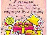 Happy Birthday Sweetie Quotes 100 Sweet Birthday Messages Adorable Birthday Cards