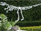 Happy Birthday T Rex Banner Dino Shin Dig Happy Birthday Birthdays and Banners