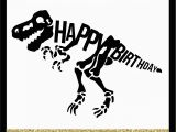 Happy Birthday T Rex Banner Happy Birthday Dinosaur Party Crafts and More
