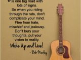 Happy Birthday to A Musician Quotes Another Great Bob Marley Quote by Happywallz Walls