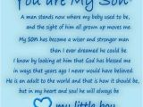 Happy Birthday to A son Quotes Happy Birthday to My son In Heaven Quotes Quotesgram