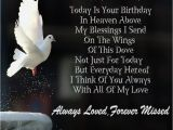 Happy Birthday to Loved Ones In Heaven Quotes Birthday Quotes for Husband In Heaven Image Quotes at