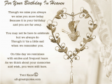 Happy Birthday to Loved Ones In Heaven Quotes Lost Loved Ones Birthday Quotes Quotesgram