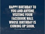 Happy Birthday to Me Quotes for Facebook Happy Birthday Quotes for Facebook Quotesgram