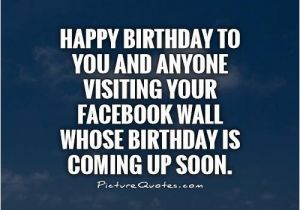 Happy Birthday to Me Quotes for Facebook Happy Birthday Quotes for Facebook Quotesgram