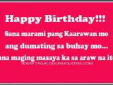 Happy Birthday to Me Quotes Tagalog Filipino Birthday Quotes Quotesgram