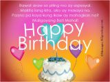 Happy Birthday to Me Quotes Tagalog Happy Birthday In Tagalog 365greetings Com