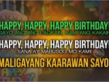 Happy Birthday to Me Quotes Tagalog Tagalog Birthday Quotes Quotesgram