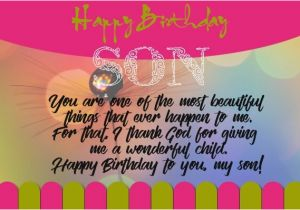 Happy Birthday to My 1 Year Old son Quotes 50 Best Birthday Quotes for son Quotes Yard