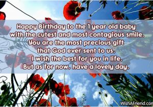 Happy Birthday to My 1 Year Old son Quotes Happy Birthday Baby Boy Quotes Quotesgram