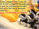 Happy Birthday to My 2 Year Old Daughter Quotes Happy 2nd Birthday Baby Boy Quotes
