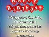 Happy Birthday to My 3 Year Old Daughter Quotes Happy 3rd Birthday Wishes Images Quotes for Boy or Girl