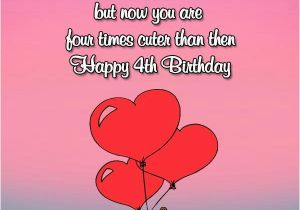 Happy Birthday To My 4 Year Old Daughter Quotes 4th Wishes And Greetings Occasions Messages