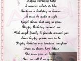 Happy Birthday to My Angel In Heaven Quotes Angel In Heaven Birthday Quotes Quotesgram