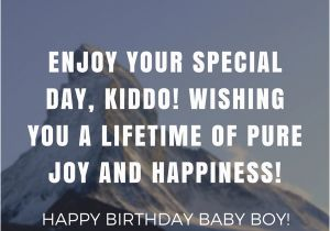 Happy Birthday To My Baby Boy Quotes Happy Birthday Baby Boy 33