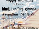 Happy Birthday to My Beautiful Mother Quotes Happy Birthday Quotes Sayings Wishes Images and Lines
