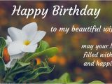 Happy Birthday to My Beautiful Wife Quotes Birthday Wishes for Wife Away From Husband with Love In