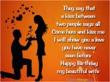 Happy Birthday to My Beautiful Wife Quotes Romantic Birthday Wishes for Wife Occasions Messages