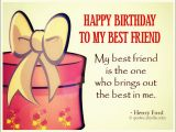 Happy Birthday to My Best Friend Funny Quotes Best Friend Birthday Quotes Quotes and Sayings