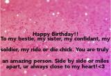 Happy Birthday to My Bestie Quotes Rider to My Bestie Quotes Quotesgram