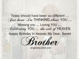 Happy Birthday to My Brother In Heaven Quotes Brother Birthday In Heaven Heaven Images Free Birthday