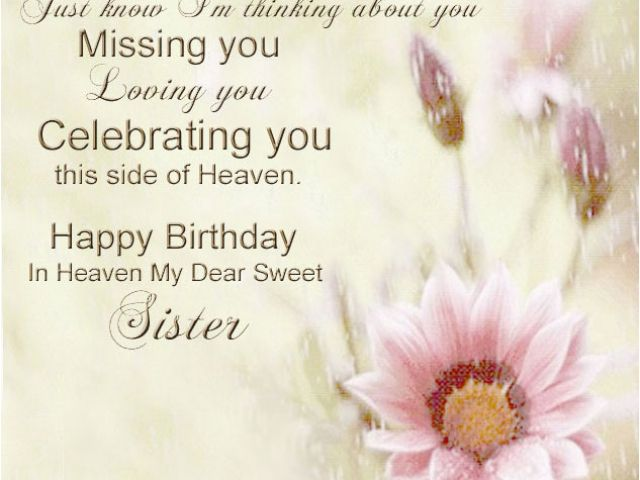 Happy Birthday to My Daughter In Heaven Quotes Dear Daughter ...