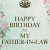 Happy Birthday to My Father In Law Quotes Father In Law Birthday Quotes Quotesgram