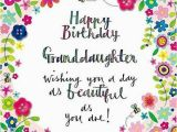 Happy Birthday to My Granddaughter Quotes Happy Birthday Granddaughter Quotes and Wishes