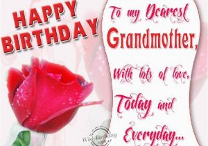 Happy Birthday to My Grandma Quotes Birthday Wishes for Grandmother Birthday Images Pictures