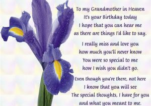 Happy Birthday to My Grandma Quotes Grandma In Heaven Quotes Quotesgram
