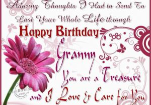 Happy Birthday to My Grandma Quotes Happy Birthday Granny Pictures Photos and Images for