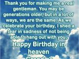 Happy Birthday to My Grandpa In Heaven Quotes Happy Birthday In Heaven Wishes Quotes Images