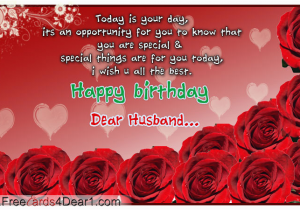 Happy Birthday To My Husband Greeting Cards Ecard For