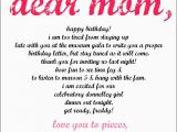 Happy Birthday to My Late Mother Quotes Quotes Dear Mom Letters Quotesgram