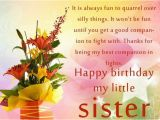 Happy Birthday to My Little Sister Quotes Happy Birthday My Little Sister Pictures Photos and