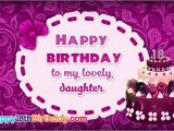 Happy Birthday to My Lovely Daughter Quotes Best Happy 18th Birthday Greeting Cards