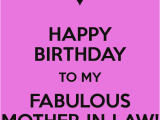 Happy Birthday to My Mother In Law Quotes Mother In Law Birthday Quotes Quotesgram