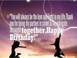 Happy Birthday to My Partner In Crime Quotes Best 35 Sweet Birthday Wishes for Boyfriend with Images