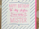 Happy Birthday to My Partner In Crime Quotes Birthday Card for Best Friend for Her Sister From Another
