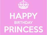 Happy Birthday to My Princess Quotes Happy Birthday Princess Poster Kirill Keep Calm O Matic