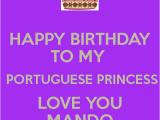 Happy Birthday to My Princess Quotes Happy Birthday Quotes In Portuguese Quotesgram