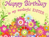 Happy Birthday to My Sister Quotes and Images Happy Birthday Sister Free Freeting Online Ecard