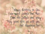 Happy Birthday to Old Friend Quotes 30 Meaningful Most Sweet Happy Birthday Wishes
