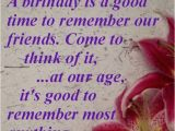 Happy Birthday to Old Friend Quotes Birthday Wishes Quotes Awesome Sayings Good Time