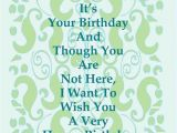 Happy Birthday to someone who Passed Away Quotes Happy Birthday Quotes for Mom that Has Passed Away Image
