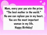 Happy Birthday to the Best Mom In the World Quotes 10 Birthday Wishes for Mom that Will Make Her Smile